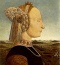 PIERO della FRANCESCA Portrait Of Battista Sforza