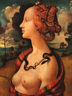 Piero di Cosimo Portrait of Simonetta Vespucci c1480