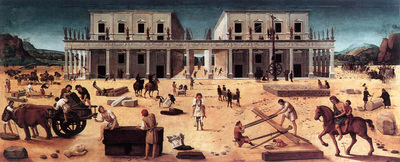 piero di cosimo the building of a palace 1515
