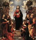 Piero di Cosimo Immaculate Conception with Saints c1505
