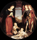 piero di cosimo the adoration of the christ child