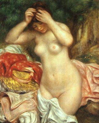 Bather Arranging her Hair CGF