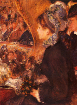 Renoir Pierre Auguste At The Theatre