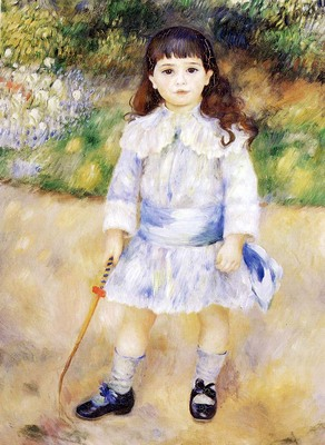 Renoir Pierre Auguste Child With A Whip