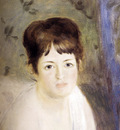 Renoir Auguste Head Of A Woman