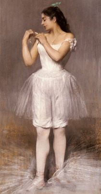 Carriere Belleuse Pierre The Ballerina