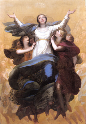 Proud hon Pierre Paul L Assomption de la Vierge
