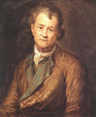 Puget Self portrait in Old Age