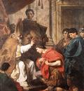 SUBLEYRAS Pierre St Ambrose Converting Theodosius
