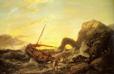 Dommersen Pieter Christian The Shipwreck