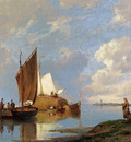 Dommersen Pieter Christiaan Off Volendam On The Zuiderzee