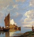 Dommersen Pieter Christiaan Off Volendam On The Zuiderzee