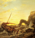 Dommersen Pieter Christian The Shipwreck