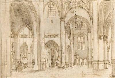 SAENREDAM Pieter Jansz Interior Of St Bavos Church In Haarlem