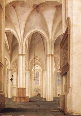 saenredam pieter jansz the buurkerk at utrecht