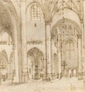 SAENREDAM Pieter Jansz Interior Of St Bavos Church In Haarlem