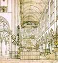 SAENREDAM Pieter Jansz Interior Of The Church In Alkmaar