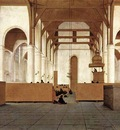 SAENREDAM Pieter Jansz Interior Of The Church Of St Odulphus Assendelft
