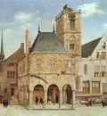 SAENREDAM Pieter Jansz The Old Town Hall In Amsterdam