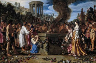 LASTMAN Pieter Pietersz Orestes And Pylades Disputing At The Altar