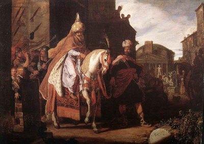 LASTMAN Pieter Pietersz The Triumph Of Mordecai