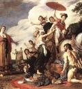 LASTMAN Pieter Pietersz Odysseus And Nausicaa