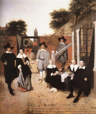 HOOCH Pieter de Dutch Family