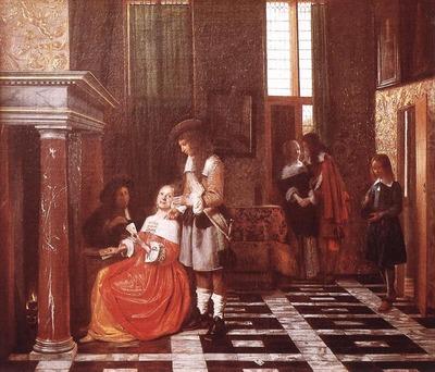 HOOCH Pieter de The Card Players
