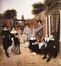 HOOCH Pieter de Dutch Family