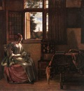 HOOCH Pieter de Woman Reading a Letter