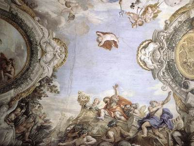 PIETRO DA CORTONA Landing Of The Trojans At The Mouth Of Tiberis