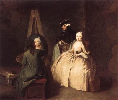 LONGHI Pietro Painter In His Studio