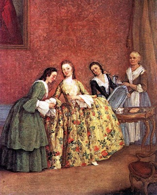 LONGHI Pietro The Venetian Ladys Morning