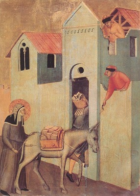LORENZETTI Pietro Beata Umilta Transport Bricks To The Monastery
