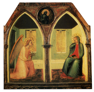 Lorenzetti Pietro The Annunciation