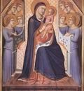 LORENZETTI Pietro Madonna Enthroned With Angels