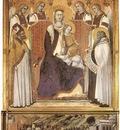 LORENZETTI Pietro Madonna With Angels Between St Nicholas And Prophet Elisha