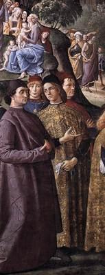 Perugino Pietro Baptism of Christ c1482 detail2