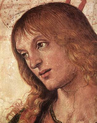 Perugino Pietro Baptism of Christ c1482 detail4