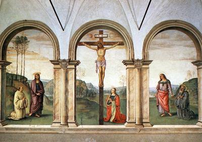Perugino Pietro The Pazzi Crucifixion