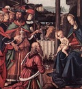 Perugino Pietro Adoration of the Kings Epiphany c1476 detail1