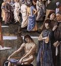 Perugino Pietro Baptism of Christ c1483 detail2