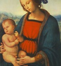 perugino pietro madonna with child