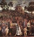 Perugino Pietro Moses s Journey into Egypt c1482