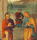 Perugino Pietro The Presepio 1498 detail1