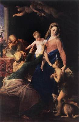BATONI Pompeo Holy Family