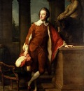 Batoni Pompeo Girolamo Portrait Of Anthony Ashley Cooper