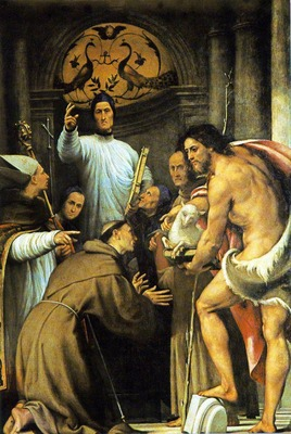 PORDENONE St Lorenzo Giustiniani And Other Saints