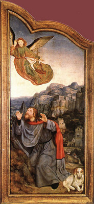 MASSYS Quentin St Anne Altarpiece left wing