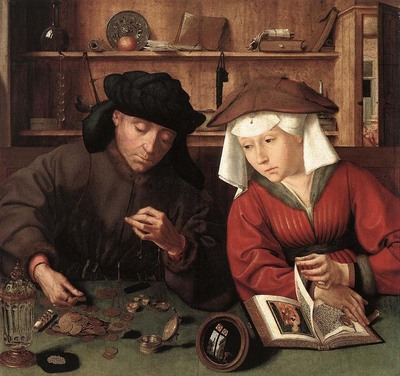 MASSYS Quentin The Moneylender and his Wife